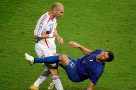 Mundial Alemania 2006: Video del cabezazo de Zidane a Materazzi - Final Francia vs Italia