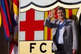 Barcelona: Gerardo 'Tata' Martino llegó al club - Video