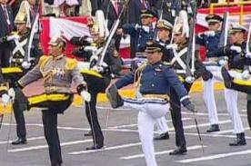 Parada Militar: Delegaciones extranjeras de Brasil, Chile y Ecuador - Video