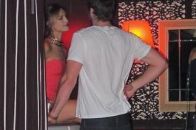 Liam Hemsworth fue captado en un club con mexicana Eiza González - Fotos