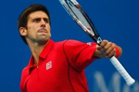 Tenis: Novak Djokovic avanza en Pekín y no quiere ceder número 1