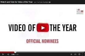 Conoce a los nominados para Video del Año de los YouTube Music Awards