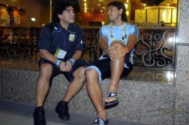 Sergio Agüero respondió ante las críticas de Diego Maradona