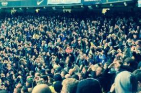 Hinchas del Manchester City se burlan del Tottenham con curiosa celebración