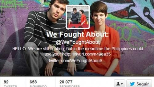 Pareja se pelea en Twitter y ahora son famosos