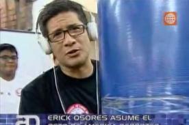 Video: Erick Osores pasó ridículo en reto de lucha de brazos