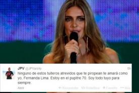 Brasil 2014: Periodista argentino le confesó amor a Fernanda Lima