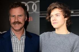 Will Ferrell: Ron Burgundy le raparía la cabeza a Harry Styles - Video