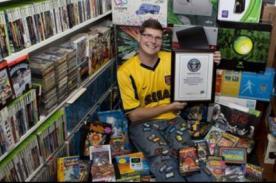 Record Guinness: Conoce al gamer con el mayor número de videojugos del mundo