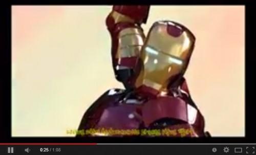 VIDEO: Mira a Iron Man transformarse al estilo de Sailor Moon