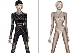 Miley Cyrus usará estos trajes para su gira Bangerz World Tour - Fotos
