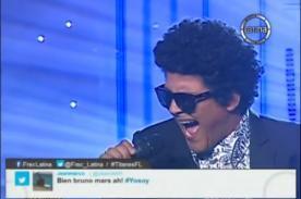 Yo soy: Presentación de Bruno Mars casi hace llorar a Katia Palma - VIDEO