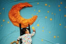 Bebé duerme en un 'mundo mágico' - VIDEO