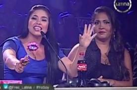 Yo Soy: Maricarmen Marín y Katia Palma tienen altercado en vivo - Video