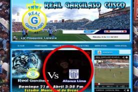 Fútbol peruano: Real Garcilaso compara a Alianza Lima con chimpancés