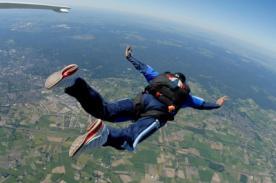 Hombre sobrevive tras caer a 1500 metros de altura