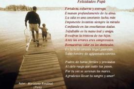 Día del Padre: Un poema para dedicar por Facebook o en una tarjeta