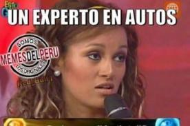 ¡Angie Arizaga es víctima de cruel meme que la deja muy mal parada! [FOTO]
