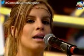 Combate: ¡Alejandra Baigorria se vuelve 'loca' y ataca con todo a la 'Pantera' Zegarra! - VIDEO
