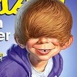 Publican caricatura poco halagadora de Justin Bieber para la revista MAD