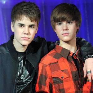 Justin Bieber revela su primera estatua de cera en Londres