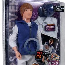 Justin Bieber debuta con nuevos muñecos cantantes colección Never Say Never