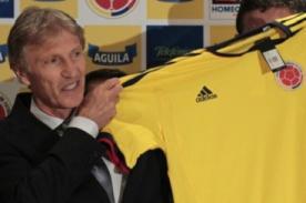 José Pekerman fue presentado como técnico de Colombia