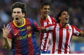 Goles del Atlético de Madrid vs Barcelona (1-2) - Liga española