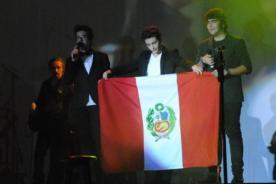 Video: Il Volo desató la histeria durante su concierto en Lima