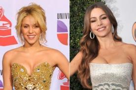 Shakira y Sofía Vergara deslumbran en gala de Univisión
