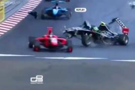 Video: Mira el terrible accidente en el GP de Mónaco