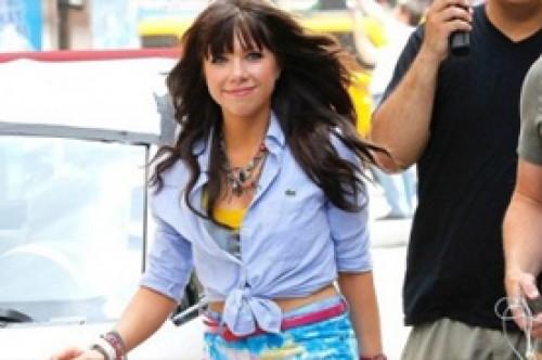 Carly Rae Jepsen, amiguísima de Justin Bieber, estará en 90210