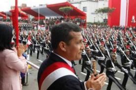 Fiestas Patrias: Transmisión de la Gran Parada Militar 2012  - En vivo