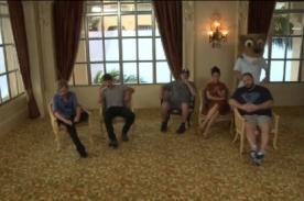 Taylor Lautner, Adam Sandler y Salma Hayek bailan el Harlem Shake