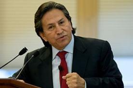Alejandro Toledo autorizó el levantamiento de su secreto bancario