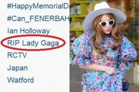 Twitter 'mató' a Lady Gaga convirtiéndola en Tendencia Mundial
