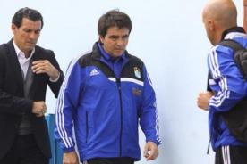 Claudio Vivas: El equipo está casi listo para enfrentar a Sport Huancayo