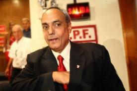 Manuel Burga: No voy a hablar de mi postulación a la FPF