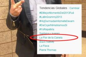 La Flor de la Canela se vuelve tendencia mundial gracias a Gianmarco