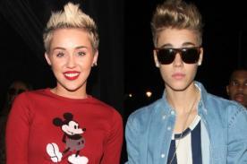Miley Cyrus y Justin Bieber son los personajes menos influyentes del año