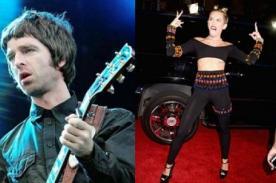 Noel Gallagher critica duramente a Miley Cyrus