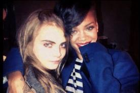 Rihanna celebró el Año Nuevo junto a Cara Delevingne - Fotos
