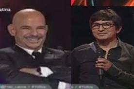 Yo Soy: Fernando Armas hace broma a Ricardo Morán - Video