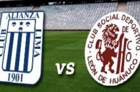 Copa Inca 2014: Alianza Lima vs León de Huánuco en vivo por América Televisión- En vivo