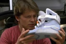 Nike: Las zapatillas de 'Volver a Futuro' saldrán a la venta - VIDEO