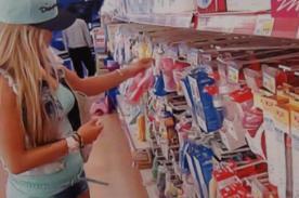 ¿Alejandra Baigorria embarazada? Modelo estuvo en tienda de ropa para bebés