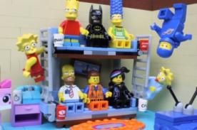 La entrada de Los Simpson hecha con Lego - VIDEO
