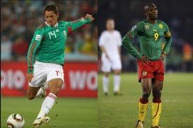 ¿A qué hora jueganMéxico Vs Camerún? – Hora Peruana – Mundial Brasil 2014