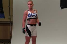 UFC: ¡Así se realizó la sesión de fotos oficial de Valentina Shevchenko! - FOTOS