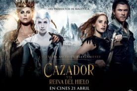Cartelera: El Cazador y la Reina del Hielo - Película en Estreno 21 de Abril
